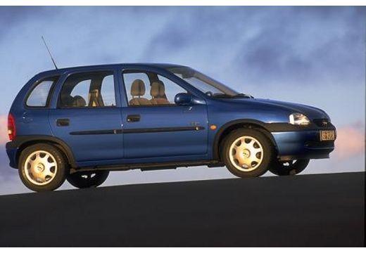 OPEL Corsa B hatchback boczny prawy