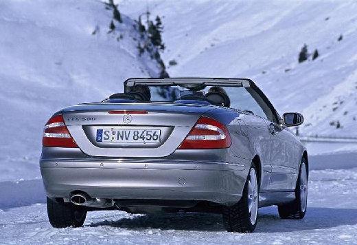 MERCEDES-BENZ Klasa CLK CLK Cabriolet A 209 I kabriolet silver grey tylny prawy