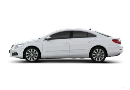 VOLKSWAGEN Passat CC sedan biały boczny lewy