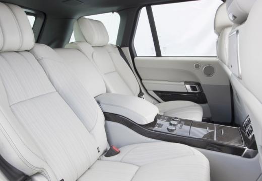 LAND ROVER Range Rover VI kombi wnętrze