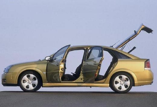OPEL Vectra C I hatchback złoty boczny lewy
