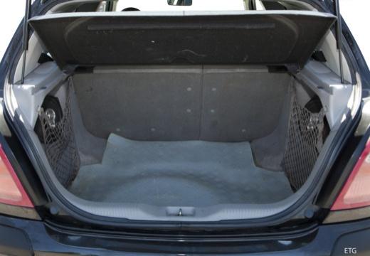 NISSAN Almera II I hatchback przestrzeń załadunkowa