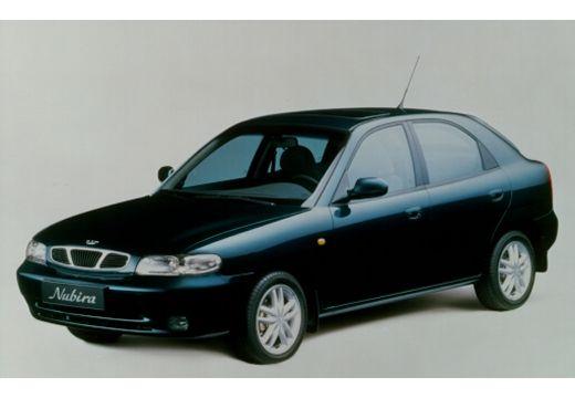 DAEWOO / FSO Nubira hatchback niebieski jasny przedni lewy