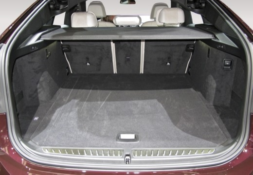BMW Seria 6 hatchback przestrzeń załadunkowa
