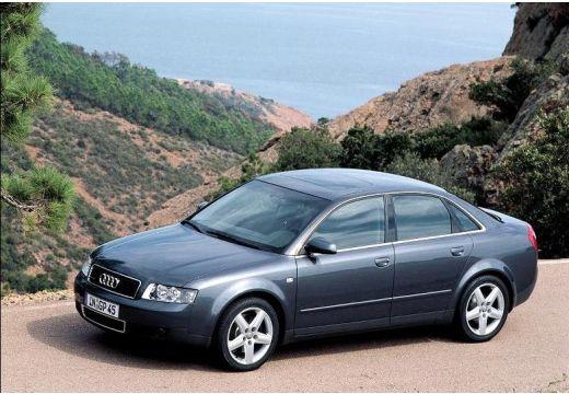 AUDI A4 8E I sedan szary ciemny przedni lewy