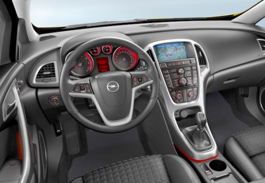 OPEL Astra IV GTC II hatchback tablica rozdzielcza