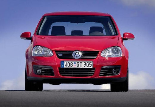 VOLKSWAGEN Golf V hatchback czerwony jasny przedni