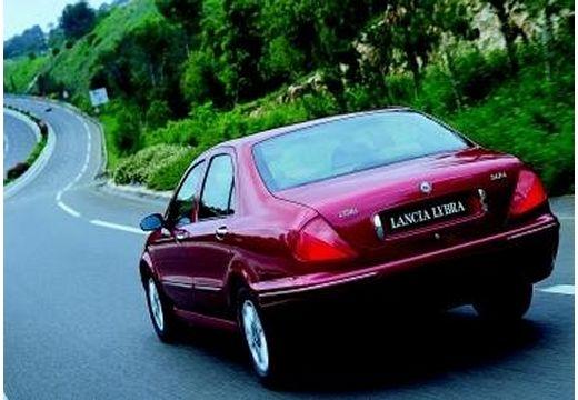 LANCIA Lybra I sedan bordeaux (czerwony ciemny) tylny lewy