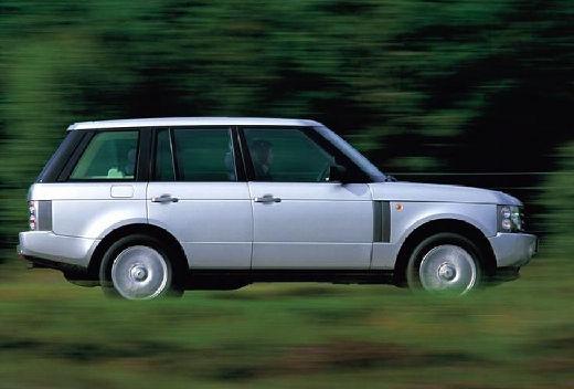 LAND ROVER Range Rover IV kombi silver grey boczny prawy