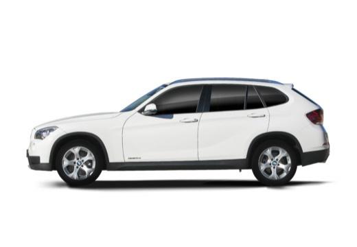 BMW X1 X 1 E84 II kombi biały boczny lewy