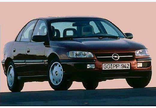 OPEL Omega B I sedan bordeaux (czerwony ciemny) przedni prawy