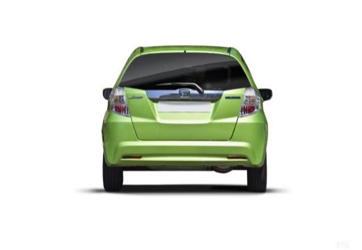 HONDA Jazz III hatchback zielony tylny