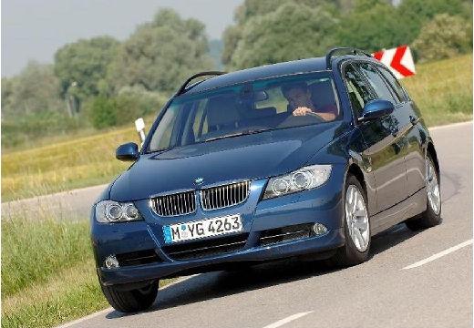 BMW Seria 3 Touring E91 I kombi niebieski jasny przedni lewy