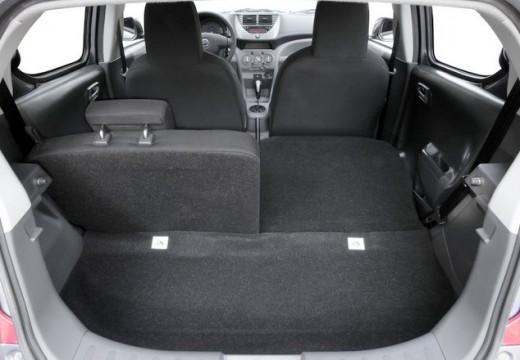 NISSAN Pixo hatchback przestrzeń załadunkowa