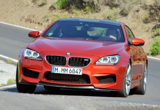 BMW Seria 6 F13 I coupe czerwony jasny przedni lewy