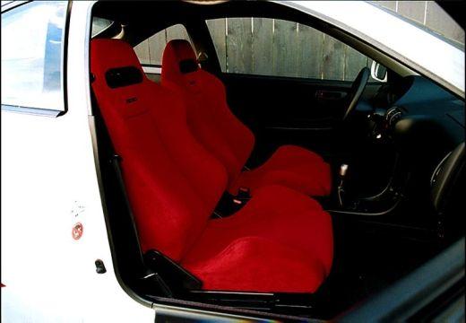 HONDA Integra coupe biały wnętrze
