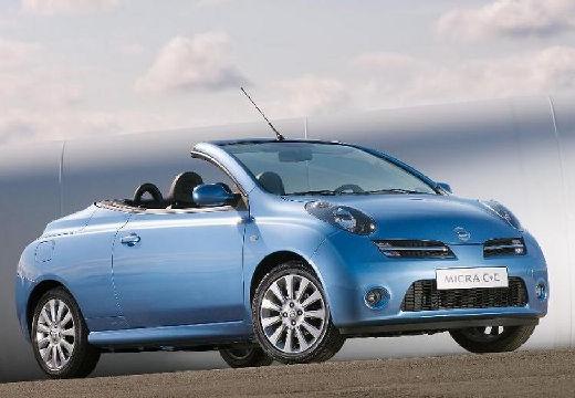 NISSAN Micra C+C kabriolet niebieski jasny przedni prawy