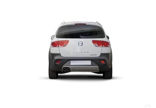 SEAT Altea XL II hatchback biały tylny