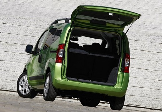 FIAT Fiorino Qubo kombi zielony tylny lewy