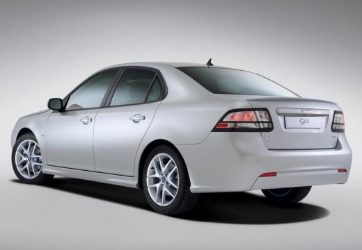 SAAB 9-3 sedan silver grey tylny lewy