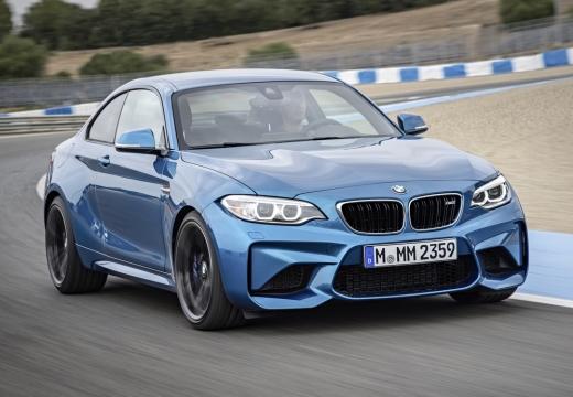 BMW Seria 2 F22 I coupe niebieski jasny przedni prawy