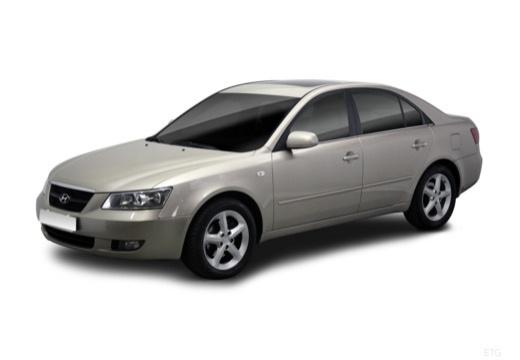 HYUNDAI Sonata VI sedan silver grey przedni lewy