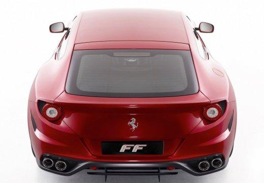 FERRARI FF coupe czerwony jasny tylny