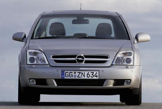 OPEL Vectra C I sedan silver grey przedni