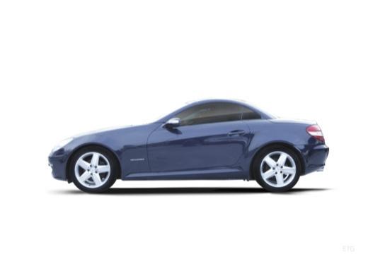 MERCEDES-BENZ Klasa SLK SLK R 171 I roadster boczny lewy