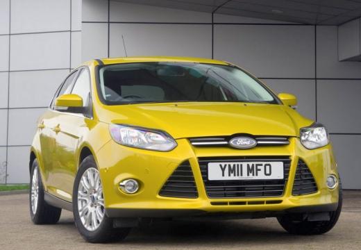 FORD Focus V hatchback żółty przedni prawy