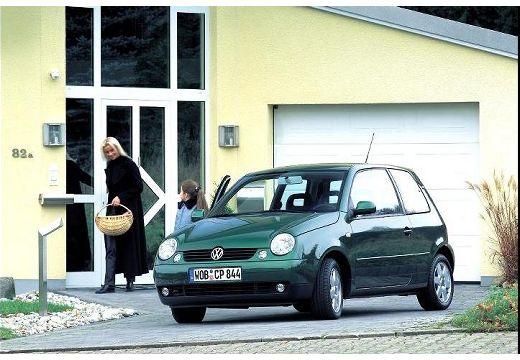 VOLKSWAGEN Lupo hatchback zielony przedni lewy
