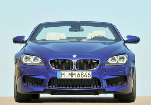 BMW Seria 6 Cabriolet F12 I kabriolet niebieski jasny przedni