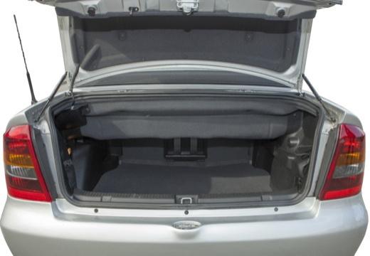 OPEL Astra II Cabriolet kabriolet przestrzeń załadunkowa