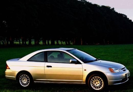 HONDA Civic coupe silver grey przedni prawy