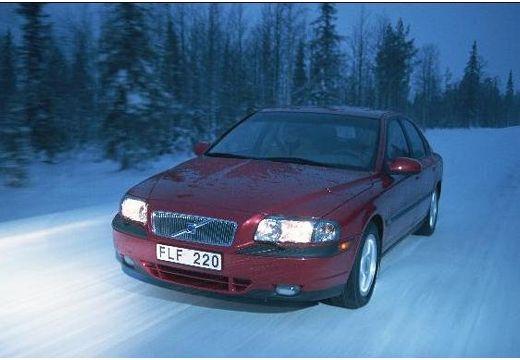 VOLVO S80 I sedan bordeaux (czerwony ciemny) przedni lewy