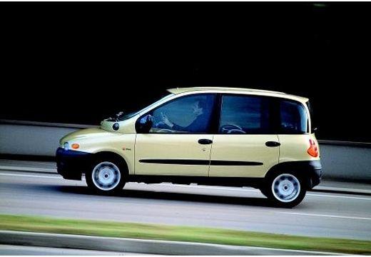 FIAT Multipla kombi żółty boczny lewy