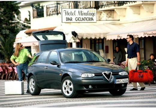 ALFA ROMEO 156 Sportwagon I kombi szary ciemny przedni prawy