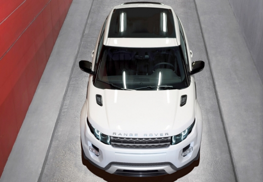 LAND ROVER Range Rover Evoque I kombi biały górny przedni