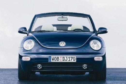 VOLKSWAGEN New Beetle Cabriolet I kabriolet niebieski jasny przedni