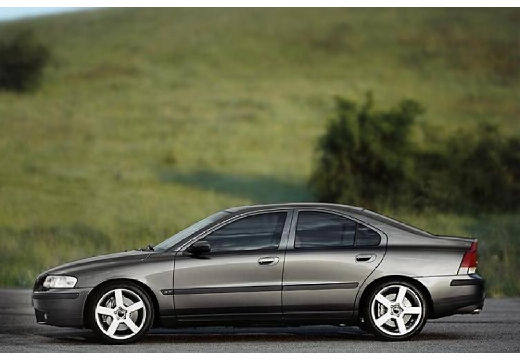 VOLVO S60 I sedan szary ciemny boczny lewy