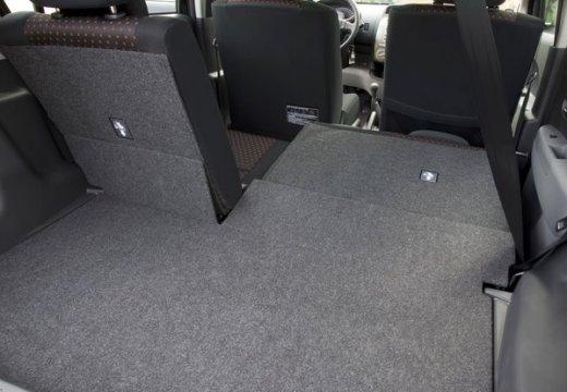 DAIHATSU Sirion III hatchback przestrzeń załadunkowa