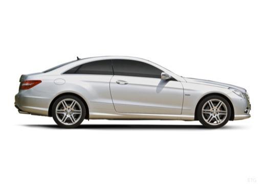 MERCEDES-BENZ Klasa E C 207 I coupe silver grey boczny prawy