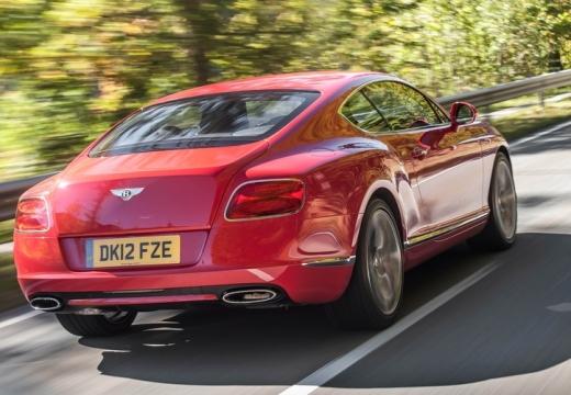 BENTLEY Continental GT II coupe czerwony jasny tylny prawy