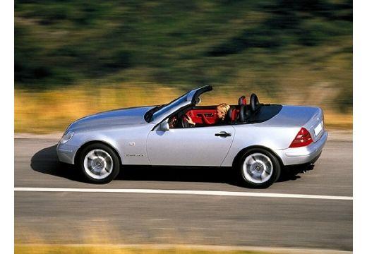 MERCEDES-BENZ Klasa SLK SLK R 170 kabriolet silver grey boczny lewy