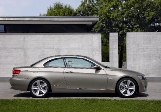 BMW Seria 3 Cabriolet E93 I kabriolet silver grey boczny prawy