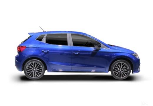 SEAT Ibiza VIII hatchback boczny prawy