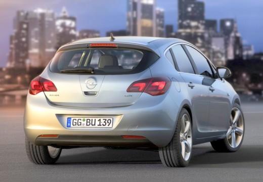 OPEL Astra IV I hatchback silver grey tylny prawy