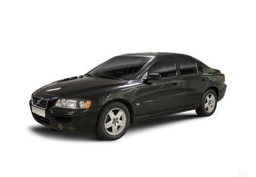 VOLVO S60 II sedan czarny przedni lewy