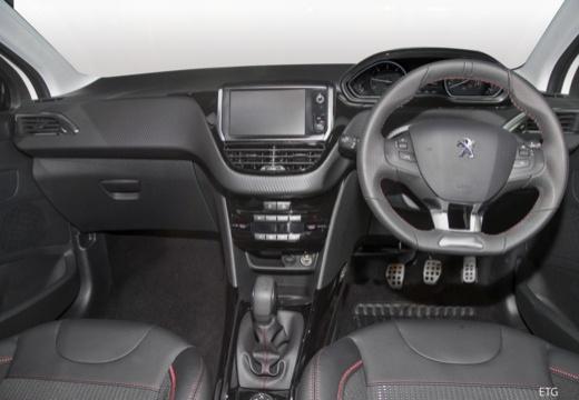 PEUGEOT 208 2008 hatchback tablica rozdzielcza