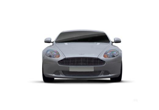 ASTON MARTIN DB9 PL coupe silver grey przedni